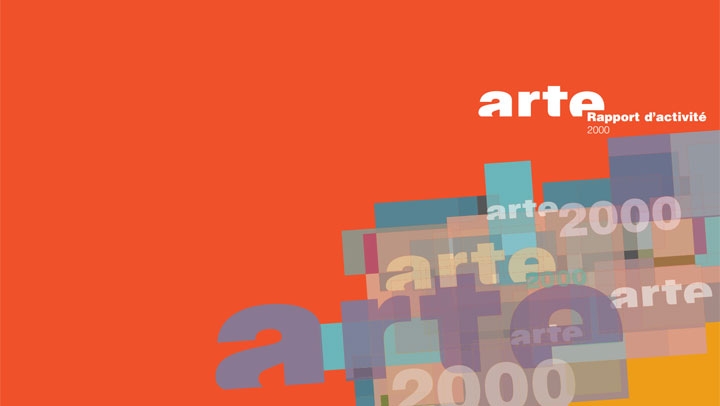 2000-rapport d'activité ARTE