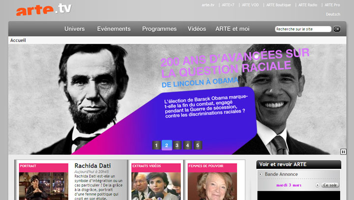 2009-De Lincoln à Obama-ARTE