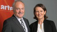 Peter Boudgoust, Président d'ARTE et Anne Durupty, Vice-Présidente d'ARTE