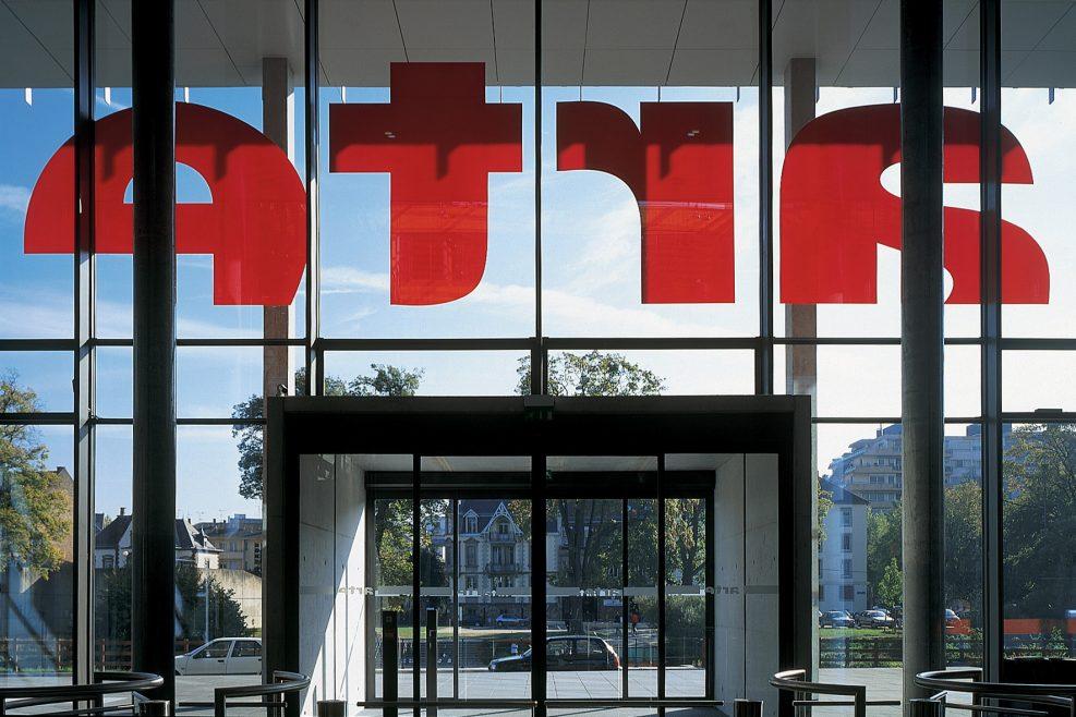 Der ARTE-Hauptsitz in Strasbourg