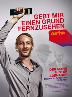 Campagne publicitaire allemande « Gebt mir einen Grund fernzusehen » (Donnez-moi une bonne raison de regarder la télé).