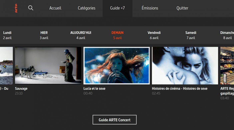 Guide tv connecteée