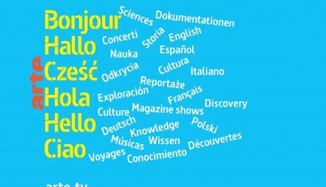 Visuel ARTE en six langues
