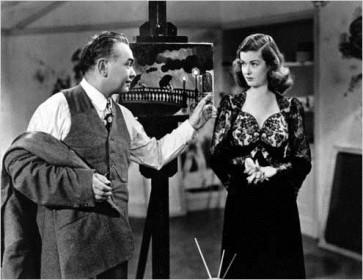 Edgar G. Robinson et Joan Bennett dans La Rue rouge
