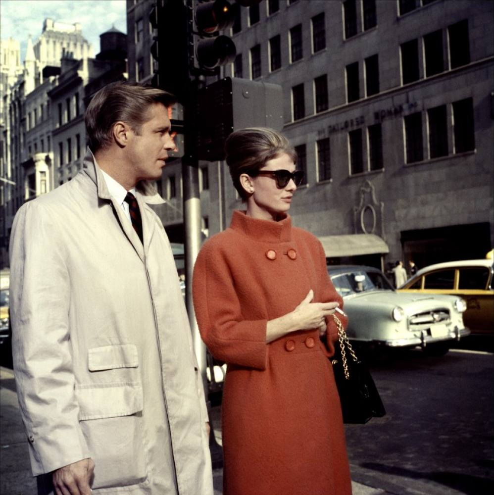 George Peppard et Audrey Hepburn