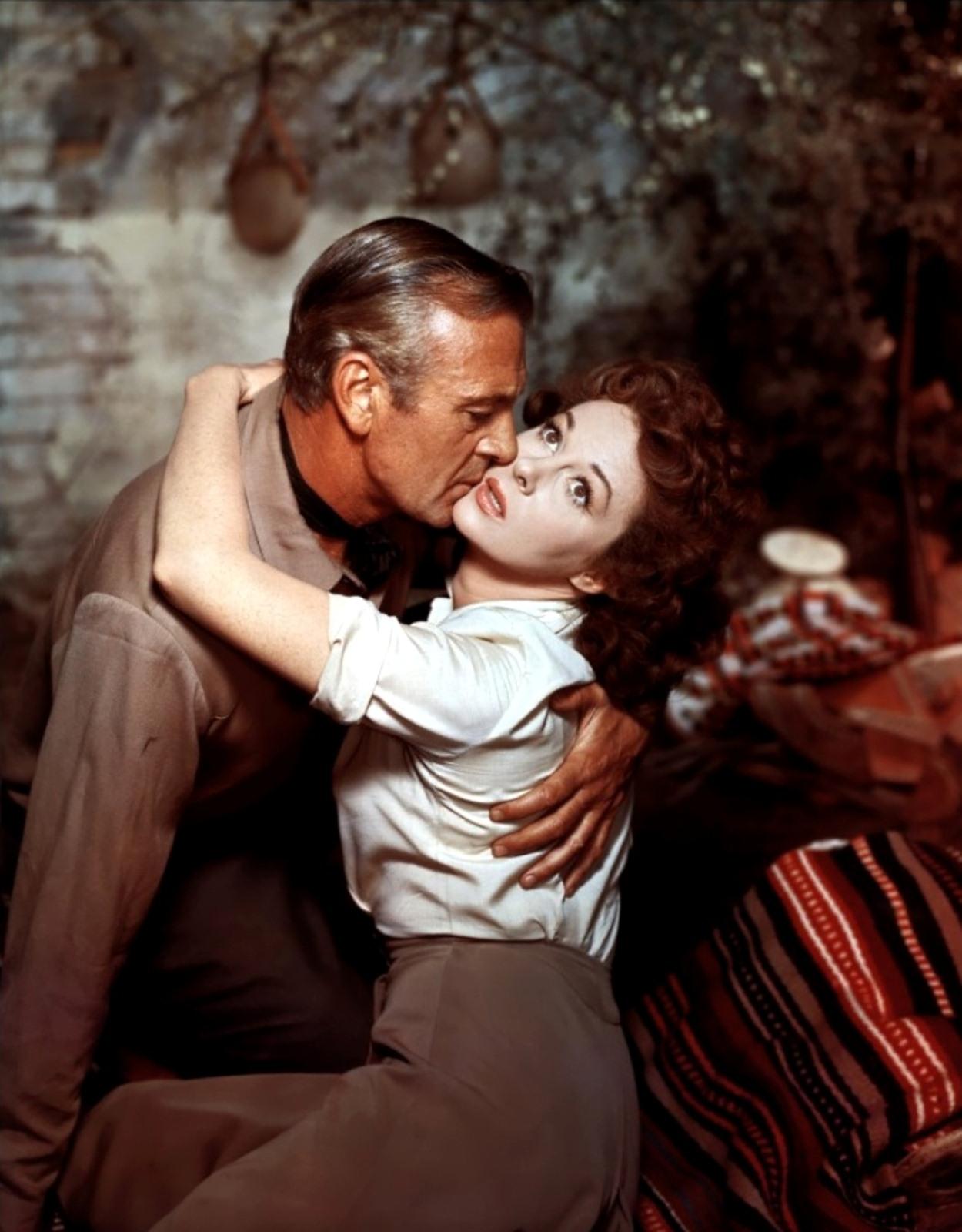 Gary Cooper et Susan Hayward