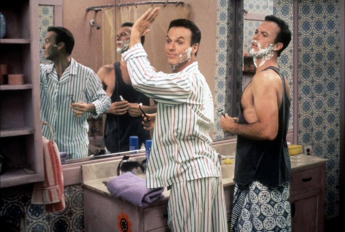 Michael Keaton et Michael Keaton dans Mes doubles, ma femme et moi