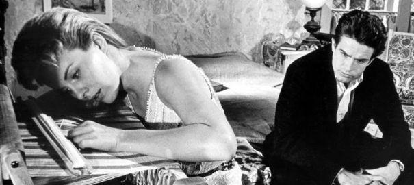Jean Seberg et Warren Beatty dans Lilith