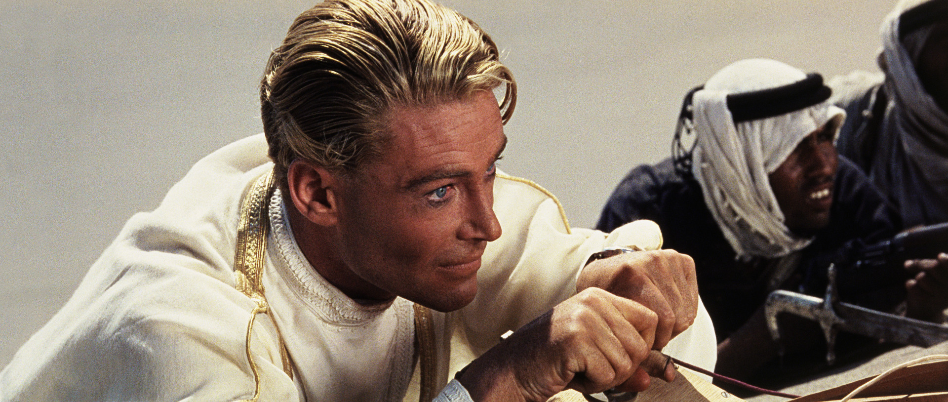 Peter O'Toole est Lawrence d'Arabie dans le film de David Lean