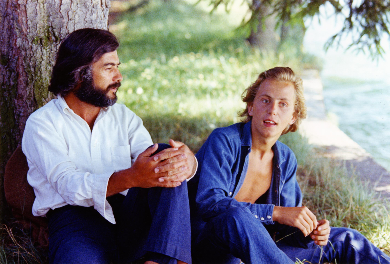 Jean-Claude Brialy et Fabrice Luchini dans Le Genou de Claire