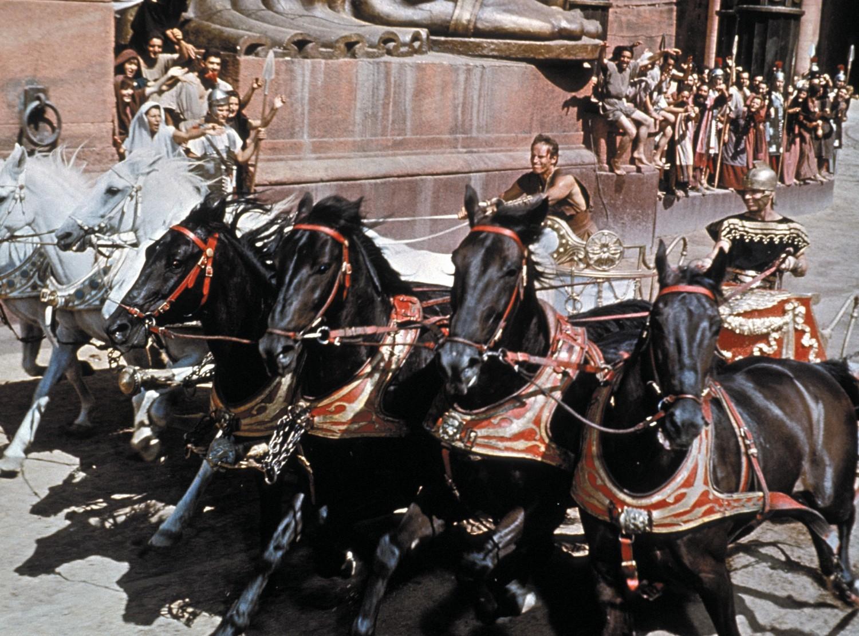 La course de chars de Ben-Hur