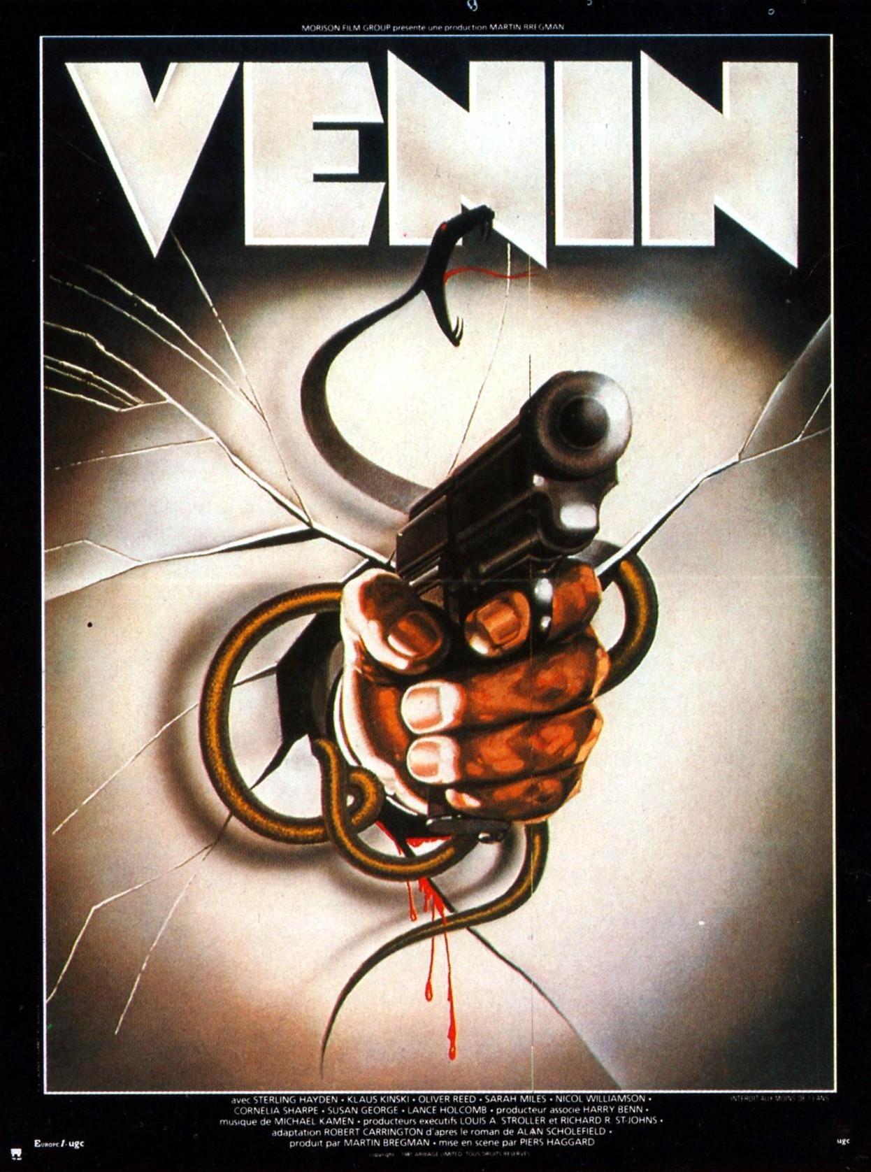 Affiche française de Venin par Landi, toute une époque