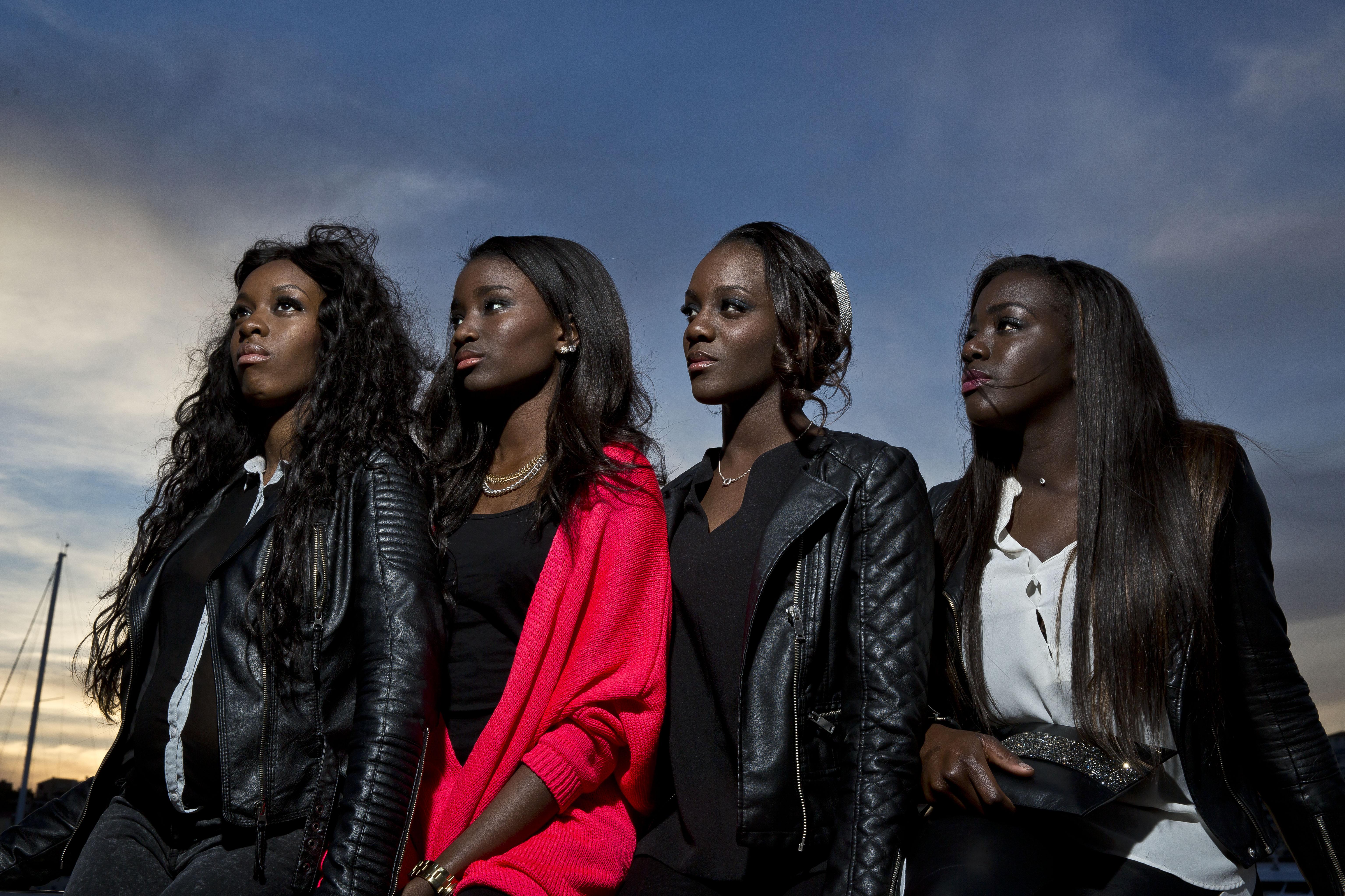 De gauche à droite : Marietou Toure, Karidja Toure, Assa Sylla, Lindsay Karamoh © Paul Blind