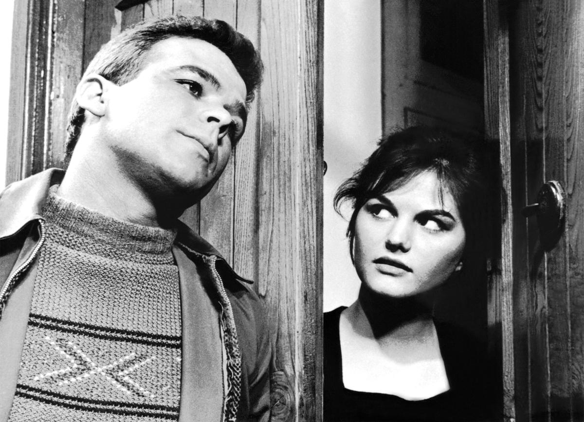 Renato Salvatori et Claudia Cardinale dans Le Pigeon