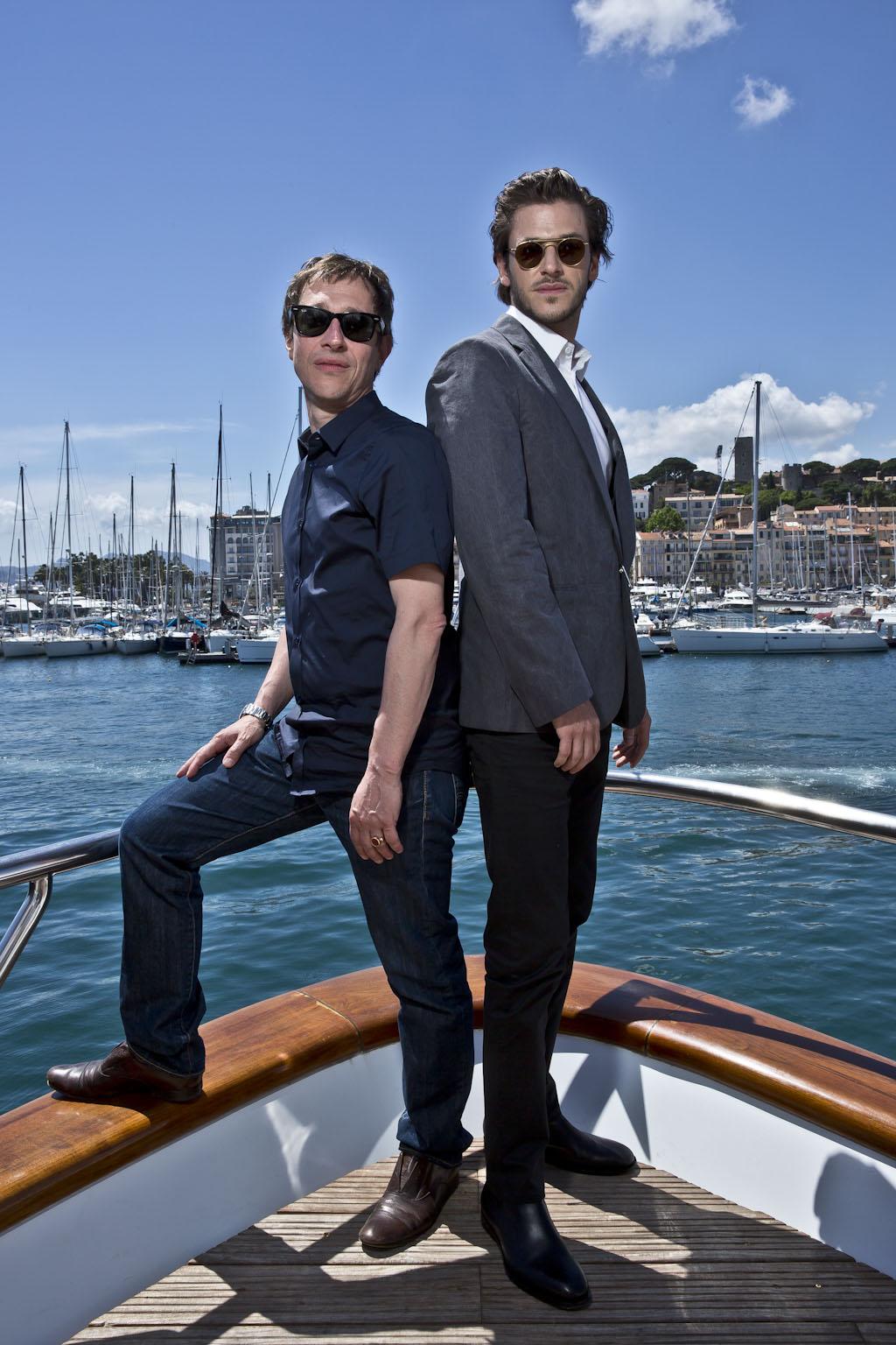Bertrand Bonello et Gaspard Ulliel © Paul Blind