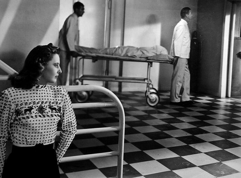 Barbara Stanwick dans L'Orchidée blanche : une atmosphère proche du film noir