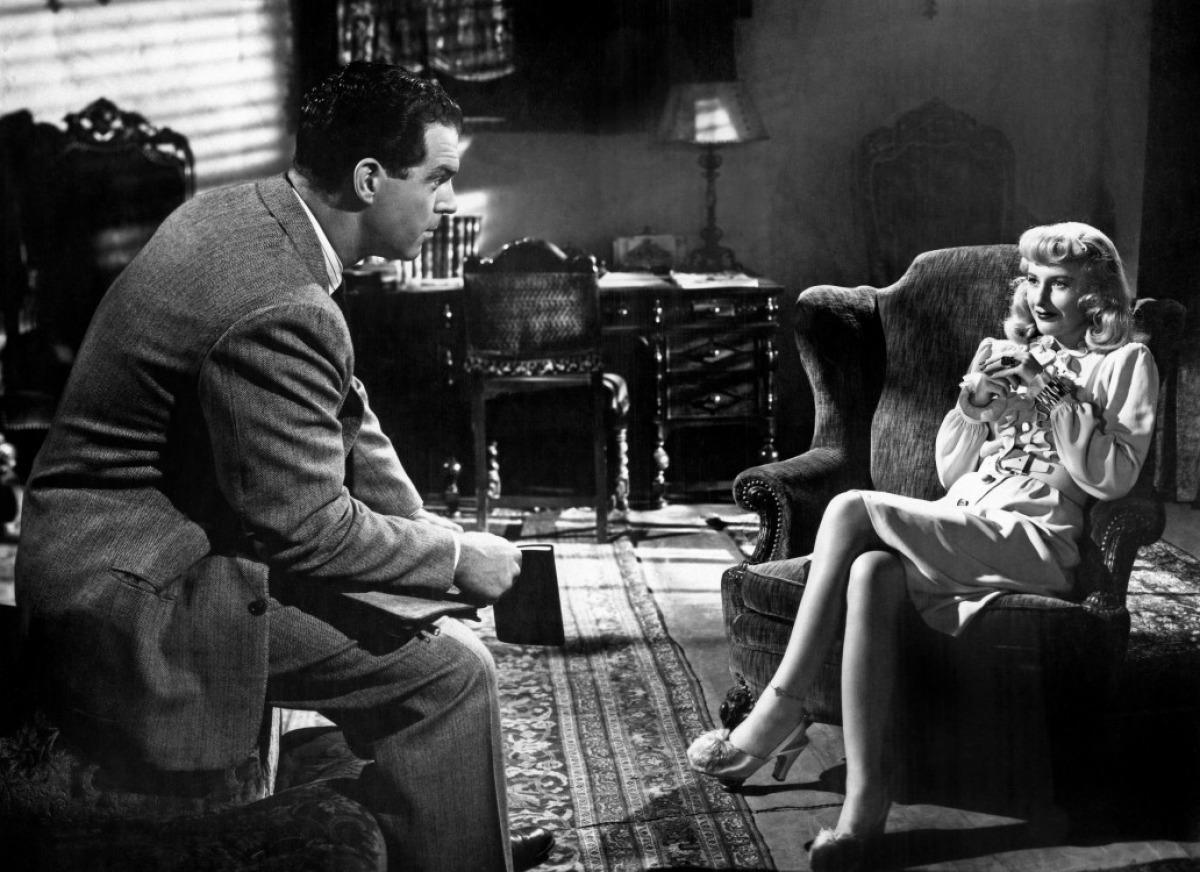 Fred MacMurray et Barbara Stanwyck