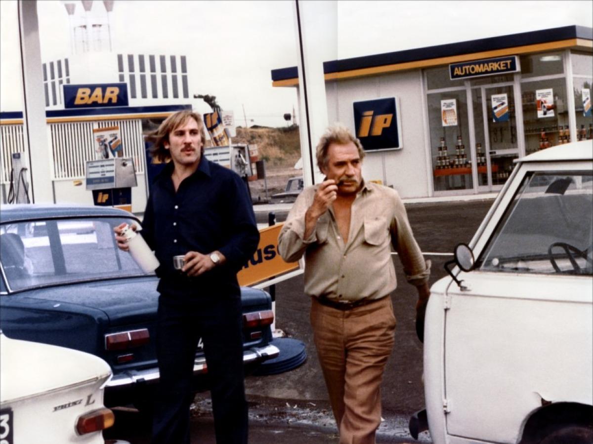 Gérard Depardieu et Ugo Tognazzi