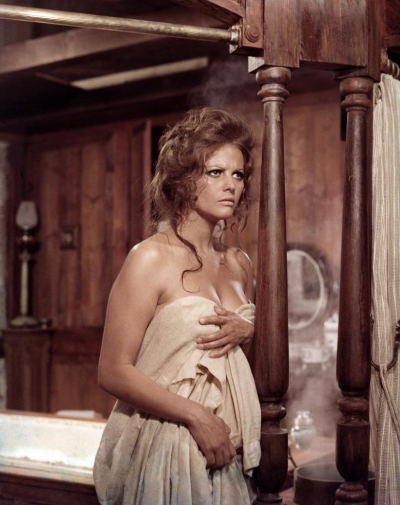 Claudia Cardinale sublime dans Il était une fois dans l'Ouest