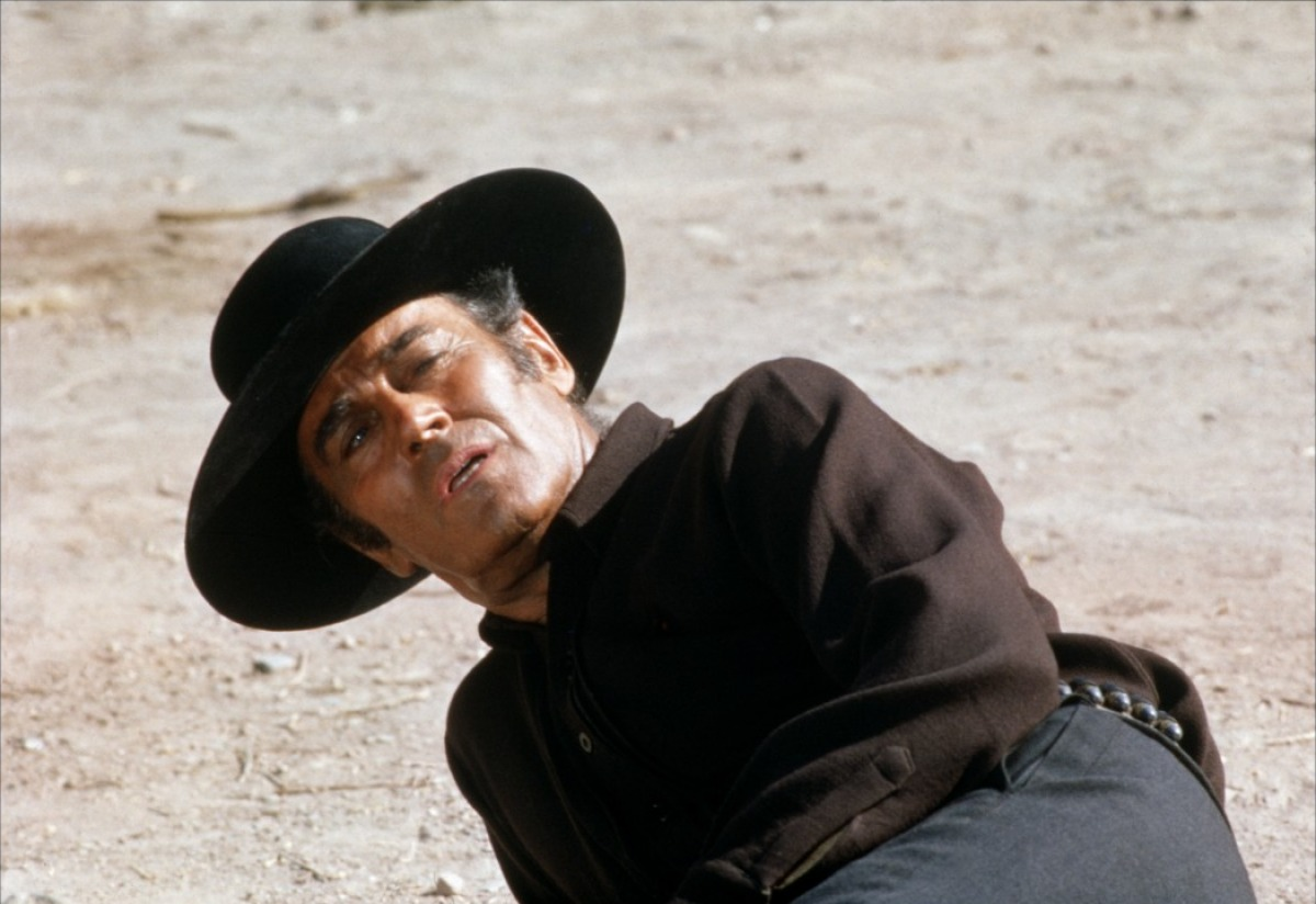 Henry Fonda dans Il était une fois dans l'Ouest
