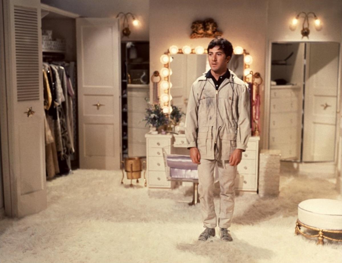Dustin Hoffman dans Le Lauréat