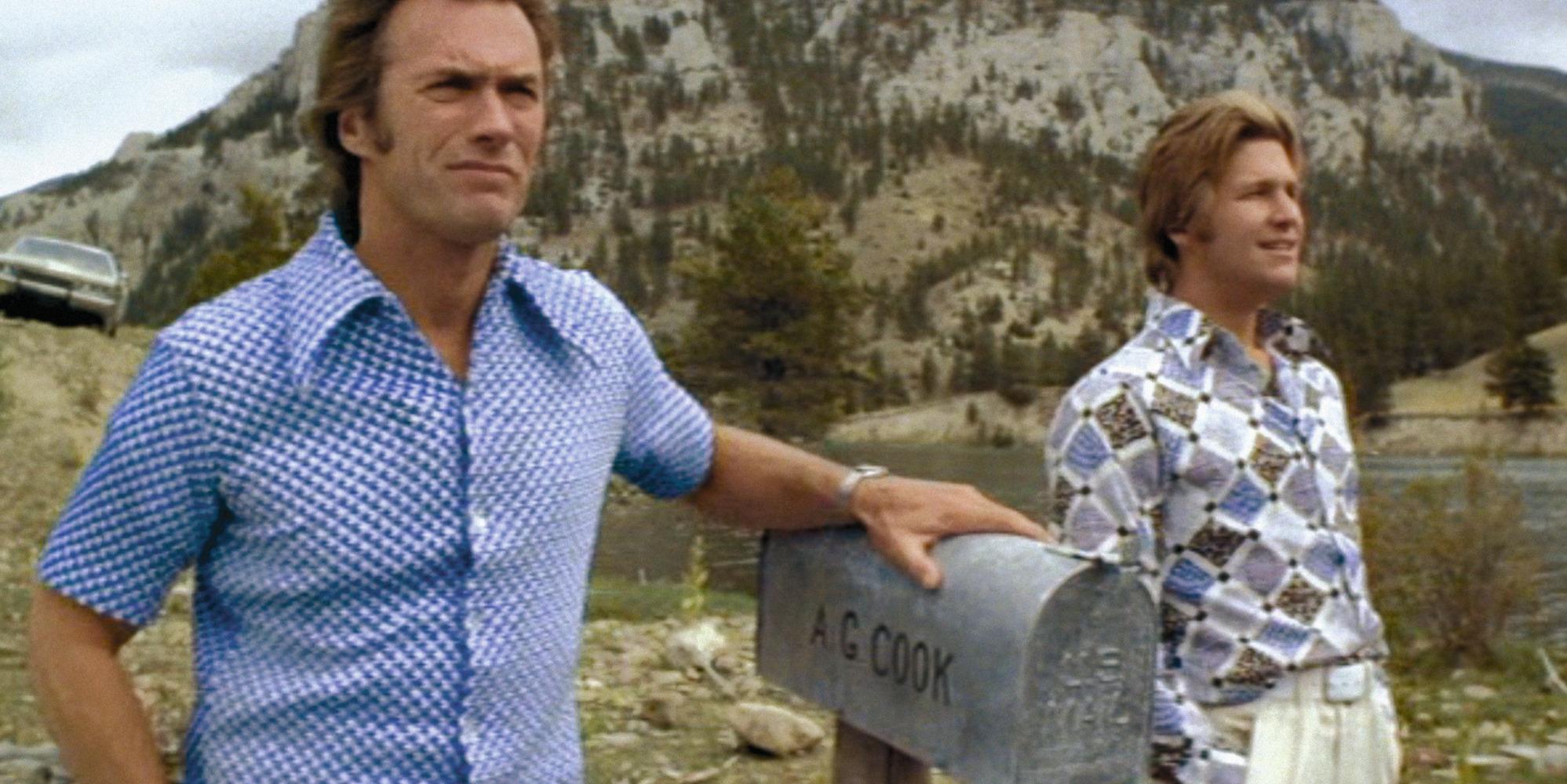 Clint Eastwood et Jeff Bridges dans Le Canardeur