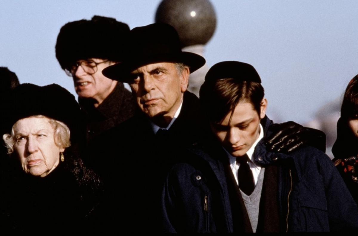Maximilian Schell et Edward Furlong dans Little Odessa