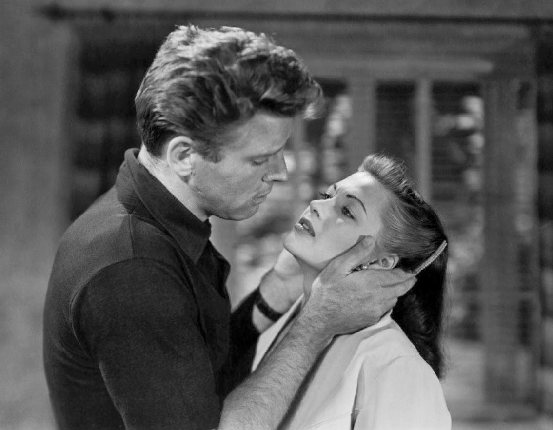 Burt Lancaster et Yvonne De Carlo dans Pour toi, j'ai tué
