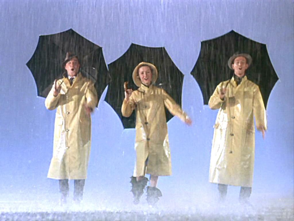 Gene Kelly, Debbie Reynolds et Donal O'Connor dans Chantons sous la pluie