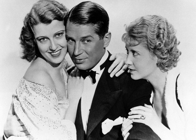 Jeanette MacDonald, Maurice Chevalier et Genevieve Tobin