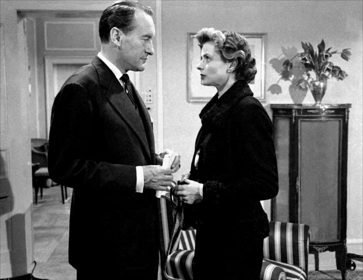 George Sanders et Ingrid Bergman