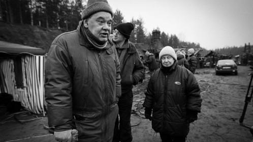 Alexeï Guerman et Svel sur le tournage de Il est difficile d'être un dieu