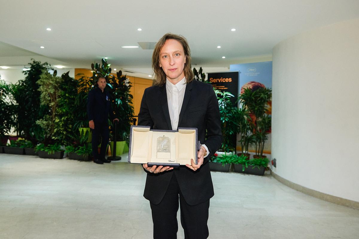 Céline Sciamma prix du scénario pour son film Portrait de la jeune fille en feu © Bertrand Noël