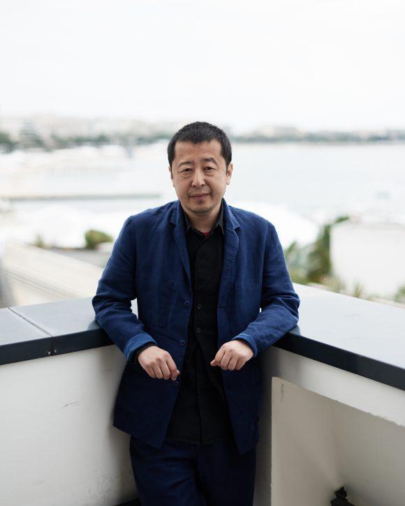 Jia Zhangke à Cannes © Bertrand Noël