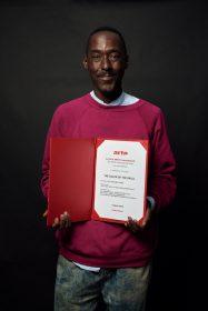 Sibs Shongwe-La Mer lauréat du prix Arte International © Bertrand Noël