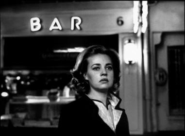 Jeanne Moreau dans Ascenseur pour l'échafaud