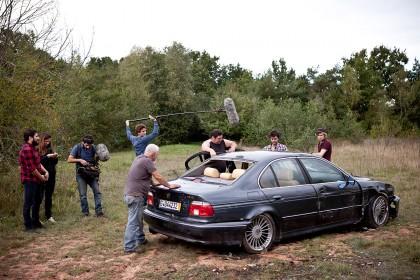 Dernier jour de tournage de Mange tes morts
