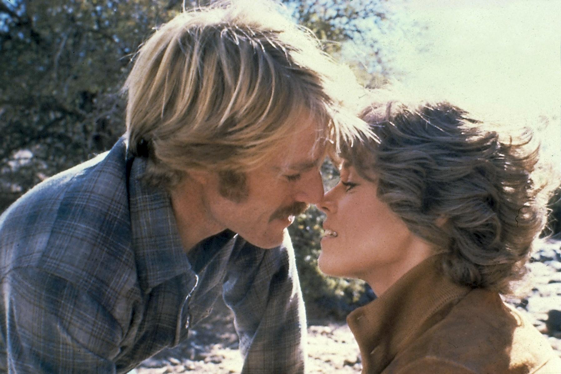 Robert Redford et Jane Fonda dans Le Cavalier électrique © MCA