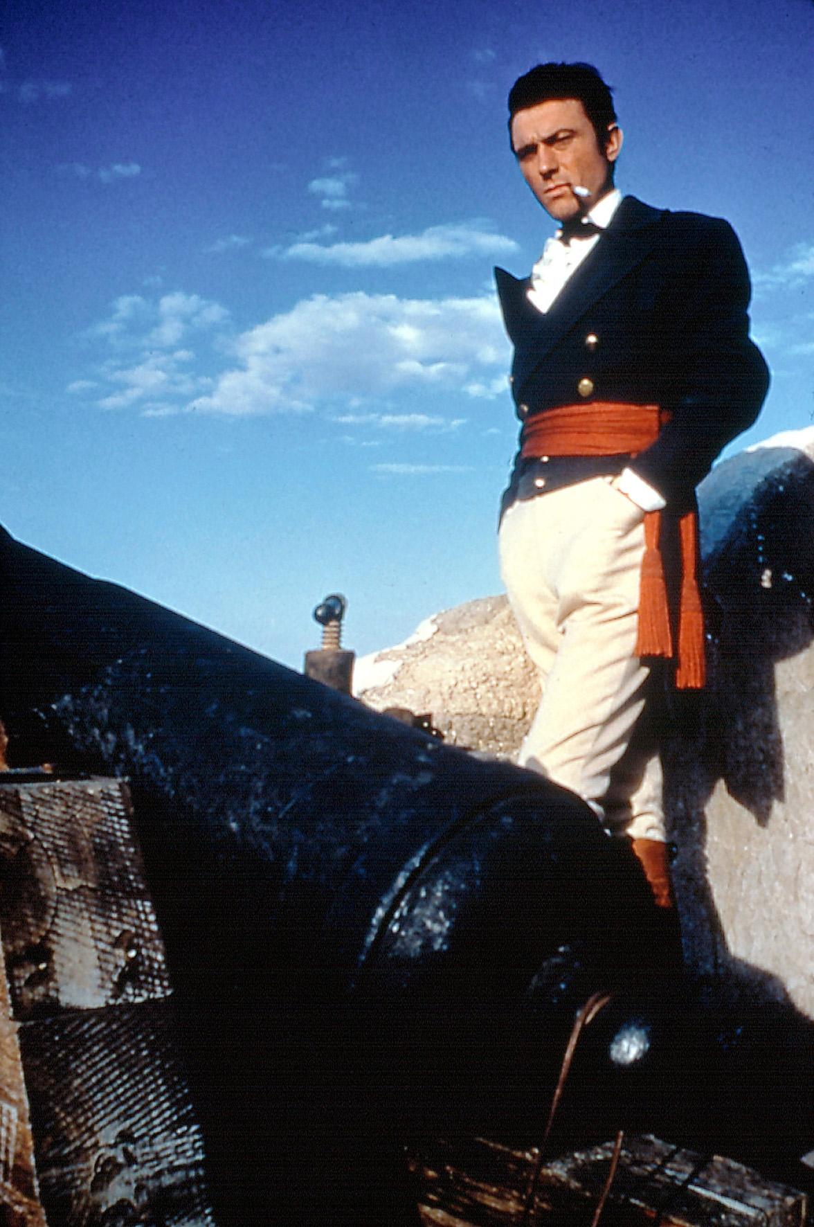 Zur arte-Sendung am 01. Januar 2000 um 20.50 Uhr Alamo 1: Laurence Harvey als Colonel William Travis Fotos: ARTE FRANCE