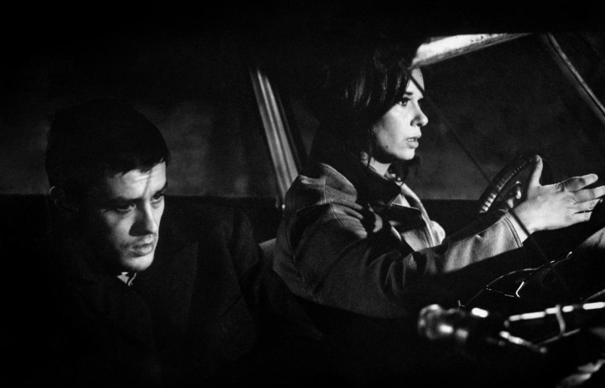 Alain Delon et Lea Massari dans L'Insoumis de Alain Cavalier