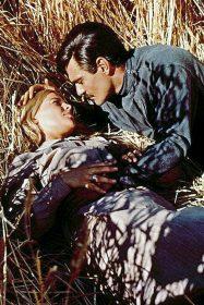 Julie Christie et Omar Sharif dans Le Docteur Jivago de David Lean
