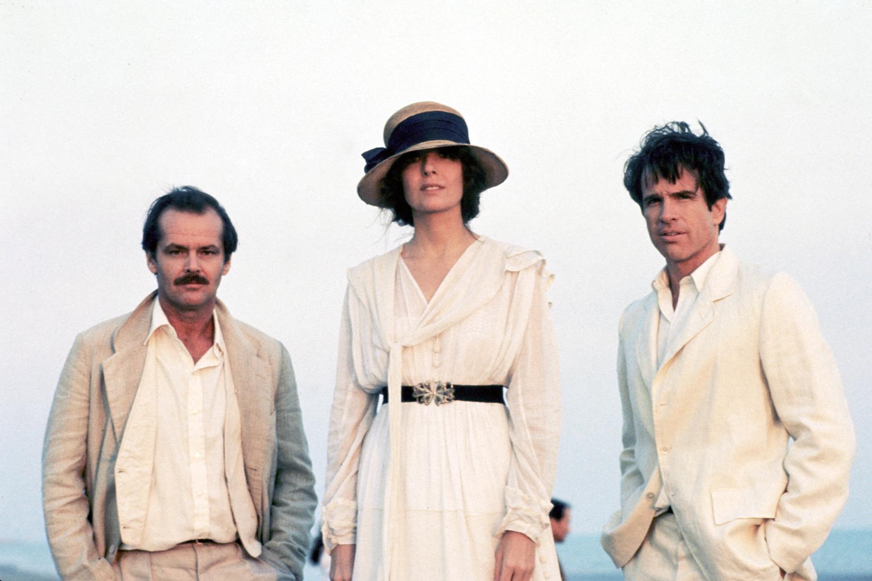 Jack Nicholson, Diane Keaton et Warren Beatty dans Reds