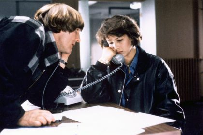 Gérard Depardieu et Sophie Marceau dans Police de Maurice Pialat © Gaumont
