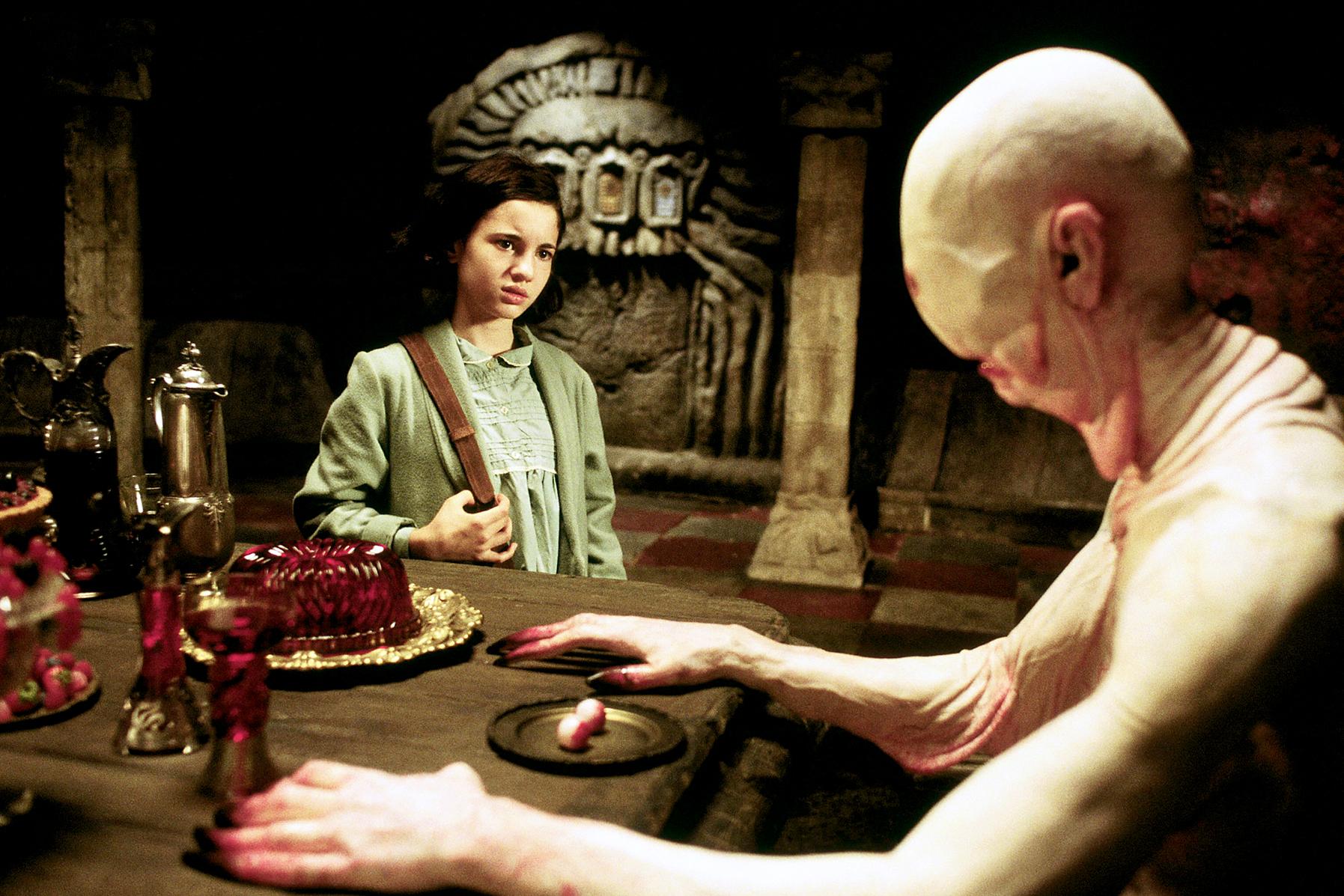 Ivana Baquero dans Le Labyrinthe de Pan © Warner Bros.