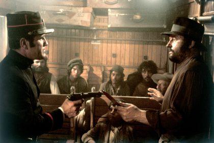 Rod Steiger (à droite) dans Il était une fois... la Révolution de Sergio Leone