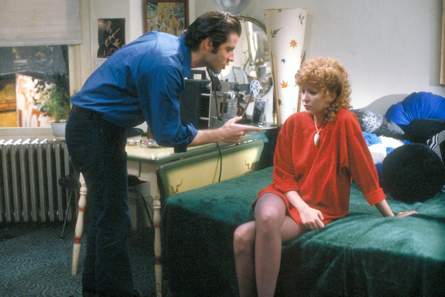 Nancy Allen et John Travolta dans Blow Out © MGM