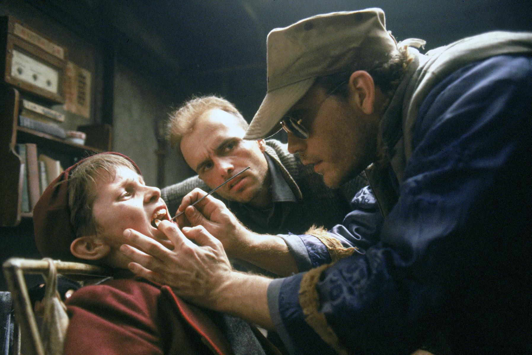 Christian Bale dans Empire du soleil de Steven SpielbergChristian Bale dans Empire du soleil de Steven Spielberg