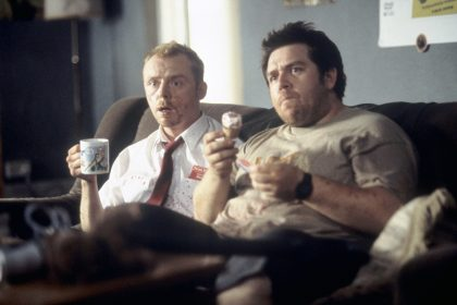 Simon Pegg et Nick Frost dans Shaun of the Dead de Edgar Wright