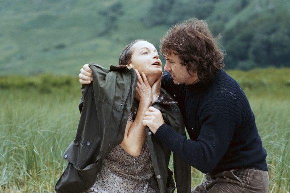 Romy Schneider et Harvey Keitel dans La Mort en direct de Bertrand Tavernier