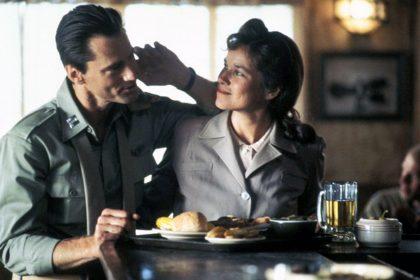 Same Shepard et Barbara Hershey dans L'Etoffe des héros de Philip Kaufman